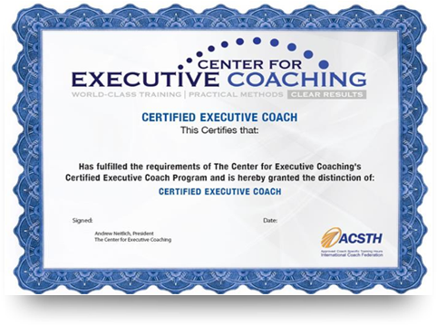 Andrew Neitlich - Executive Coach Certification - Best